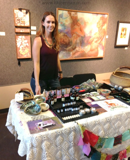 setting up my craft fair table what i learned spiral elixir