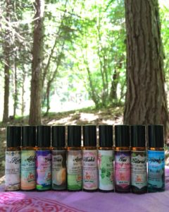 set of 10 spiral elixir oils