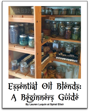Spiral Elixir Newsletter Subscribers Get a Free eBook About How to Blend Essential Oils!