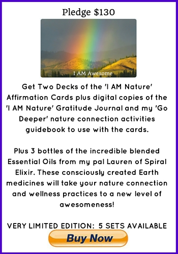 'I Am Nature' Affirmation Cards