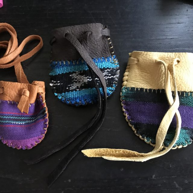 Watch Me Make Three Deerskin Pouches - New Video